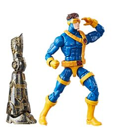 Boneco-Marvel-Legends---Build-a-Figure---Marvel-s-Warlock---X-Men---Marvel-s-Cyclops---Hasbro