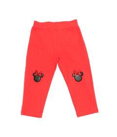 Calca-Legging-em-Molecotton---Minnie---Vermelho-e-Preto---Disney---1