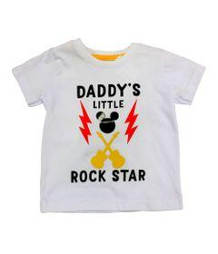 Camiseta-Manga-Curta-em-Meia-Malha---Mickey---Branco---Disney---M