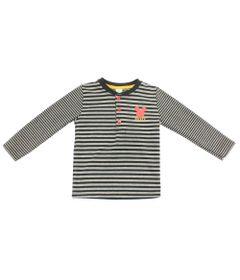 Camiseta-Manga-Longa---Mickey---Cinza-Preto-e-Branco---Disney---1
