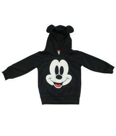Blusão de Moletom - Mickey - Preto - Disney 2eb1a94ba3b