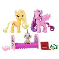Conjunto-My-Little-Pony---Amigas---Princess-Twilight-Sparkle-and-Applejack---Hasbro