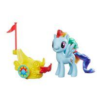 Conjunto-My-Little-Pony---Mini-Figura-com-Veiculo---Rainbow-Dash---Hasbro