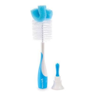 Escova-de-Mamadeira---Azul---Munchkin