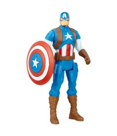 Figura-de-Acao-Articulada---15-cm---Avengers---Capitao-America---Marvel---Hasbro