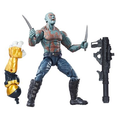Figura-de-Acao---Legends-Series---Build-A-Figure---Marvel-s-Titus---Drax---Guardioes-da-Galaxia-Vol-2---Marvel---Hasbro