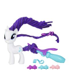 Figura-My-Little-Pony---Cabelo-Estilo---Rarity---Hasbro