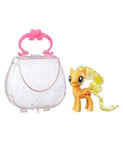 Figura-My-Little-Pony-com-Bolsa---Applejack---Hasbro