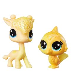 Mini-Figuras-Littlest-Pet-Shop---Dupla-Arco-Iris---Lofty-Sunglow---Saffron-Flutterdust---Hasbro