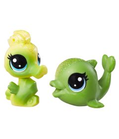 Mini-Figuras-Littlest-Pet-Shop---Dupla-Arco-Iris--Splashina-Lemonglow---Salty-Shimmerton---Hasbro