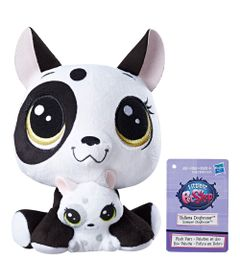 Pelucia-Littlest-Pet-Shop---Mamae-e-Filho---Bullena-Doghouser-and-Scamper-Doghouser---Hasbro