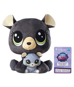 Pelucia-Littlest-Pet-Shop---Mamae-e-Filho---Chestnut-Bearly-and-Cocolina-Bearly---Hasbro