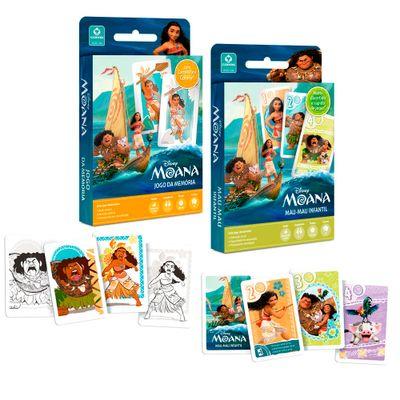 Kit-Jogos-de-Cartas---Disney---Mau-Mau-e-Jogo-da-Memoria---Moana---Copag