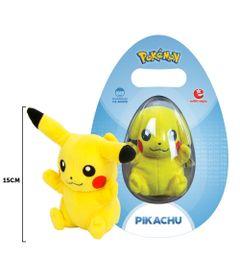 Pelucia-15-Cm---Pokemon---Pikachu---Tomy-Frente