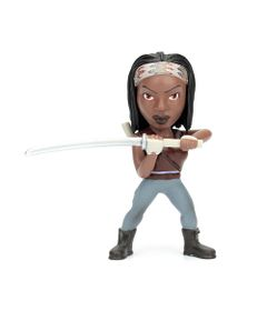 Figura-Colecionavel-10-Cm---Metals---The-Walking-Dead---Michonne---DTC