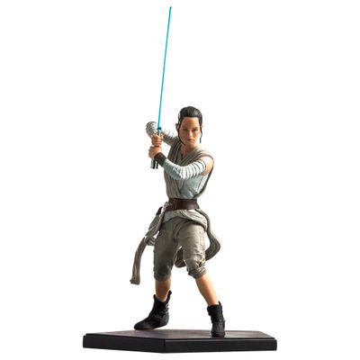 Figura-Colecionavel-24-Cm---Disney---Star-Wars---Episode-VII---Rey---Iron-Studios
