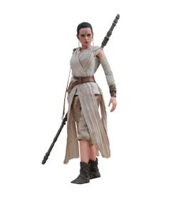 Figura-Colecionavel-28-Cm---Disney---Star-Wars---Episode-VII---Rey---Iron-Studios