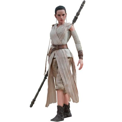 Figura-Colecionavel-28-Cm---Disney---Star-Wars---Episode-VII---Rey---Iron-Studios