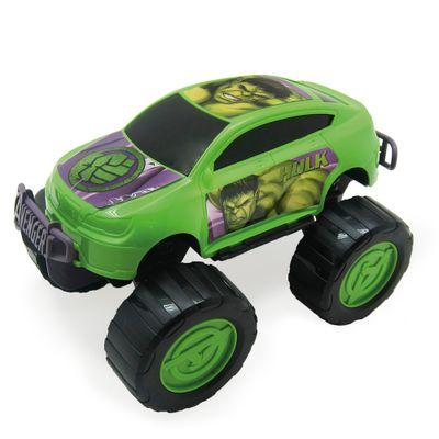 Carrinho-Roda-Livre---Monster-Car---Avengers---Hulk---Marvel---Toyng