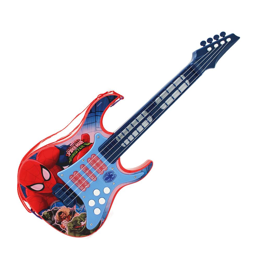 Guitarra Eletrônica - Ultimate Spider-Man Sinister 6 - Marvel - Toyng