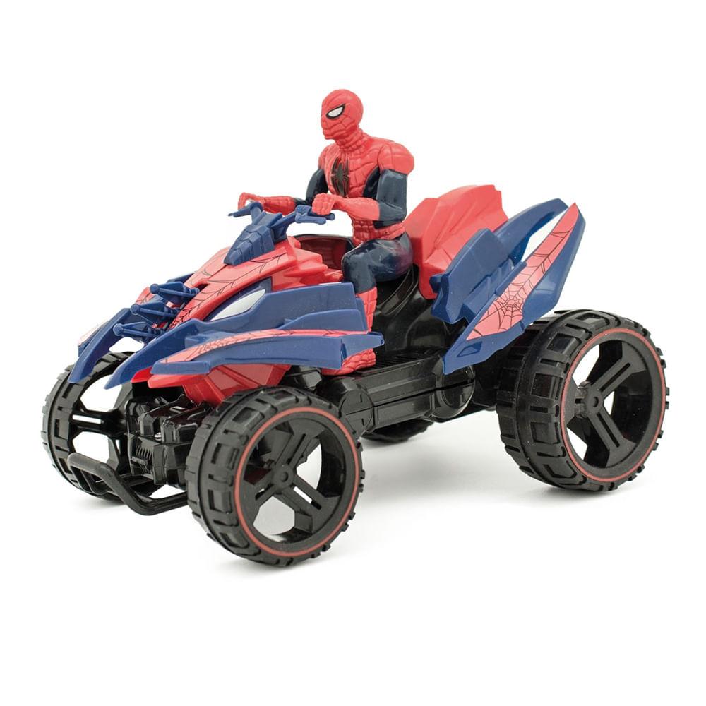 Quadriciclo de Fricção - Ultimate Spider-Man Sinister 6 - Marvel - Toyng