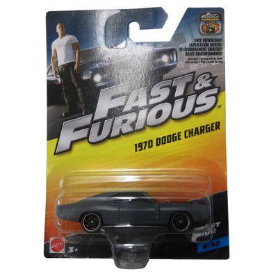 Carrinho-Die-Cast---Hot-Wheels---Velozes-e-Furiosos---1970-Dodge-Charge-RT---Mattel