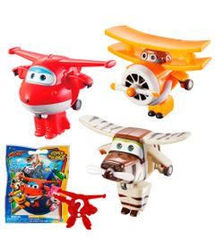 Kit-de-Figuras---6-Cm---Super-Wings---Change-Em-Up---Jett---Belo---Grand-Albert-e-Mini-Figura-Surpresa---Fun