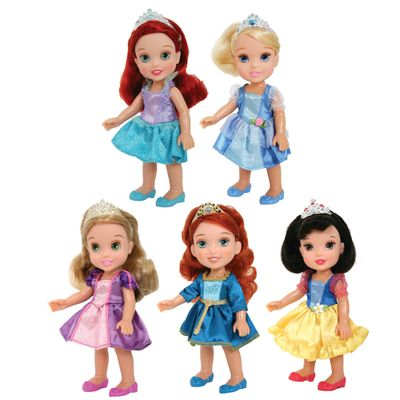Conjunto-de-Bonecas---Disney-Mini-Princesas---New-Toys-Frente