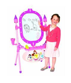 Conjunto-de-Artes-e-Atividades---Lousa-2-em-1---Disney---Princesas---New-Toys-2