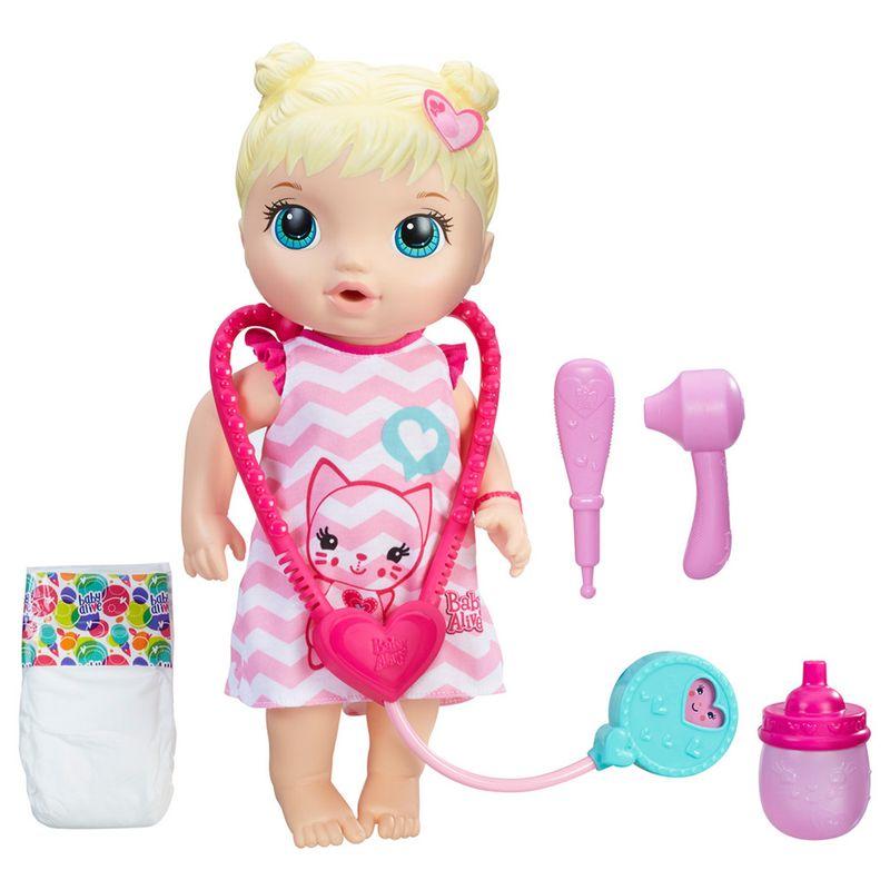 059b6ff37b Boneca Baby Alive - Loira - Cuida de Mim - C2691 - Hasbro - Ri Happy  Brinquedos