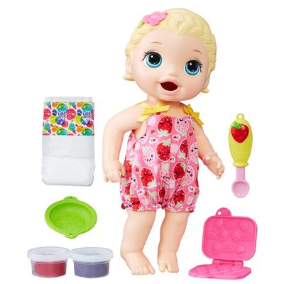 Boneca-Baby-Alive---Loira---Lanchinho---Hasbro