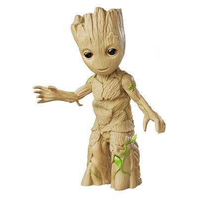 Boneco-Eletronico---Baby-Groot-Dancarino-com-Som---Guardioes-da-Galaxia-Vol-2---Marvel---Hasbro