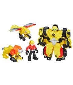 Boneco-Transformavel---Transformers---Bumblebee-Rock-Rescue-Team---Playskool---Hasbro