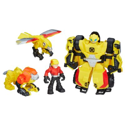 Boneco-Transformavel---Transformers---Bumblebee-Rock-Rescue-Team---Playskool---Hasbro