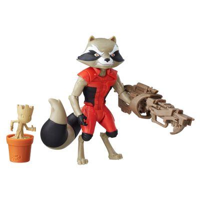 Figura-com-Acessorios---15-cm---Guardioes-da-Galaxia---Rocket-Raccoon---Marvel---Hasbro