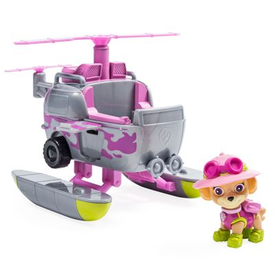 Veiculo-e-Figura---Patrulha-Canina---Resgate-na-Selva---Helicoptero-De-Resgate---Skye---Sunny