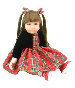 Boneca-Adora-Doll---Laura-Reborn---Vestido-Red-Chess---Shiny-Toys