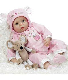 Boneca-Bebe-com-Acessorios---Reborn---Mia-com-Pelucia-Mouse---Shiny-Toys