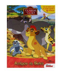 Amigos-da-Selva---A-Guarda-do-Leao---Disney---Melhoramentos