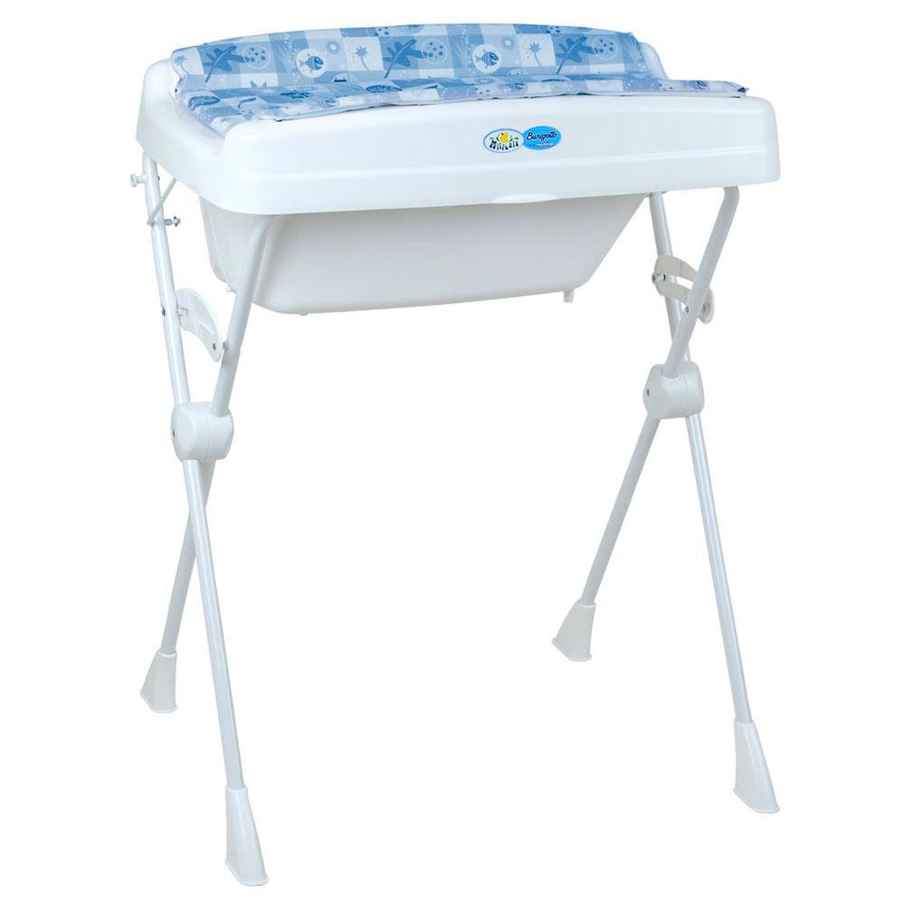 Banheira com Trocador - Millenia - Peixinho Azul - Burigotto