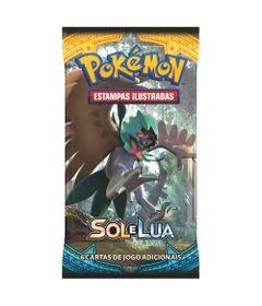 Deck-Pokemon---Booster-Unitario---Sol-e-Lua---Decidueye---Copag