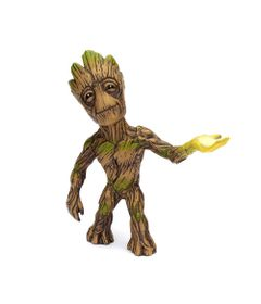 Figura-Colecionavel-10-Cm---Metals---Disney---Marvel---Guardioes-da-Galaxia---Groot---DTC
