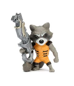Figura-Colecionavel-10-Cm---Metals---Disney---Marvel---Guardioes-da-Galaxia---Rocket-Raccoon---DTC