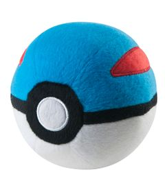 Pelucia-Pequena---11-Cm---Pokemon---Pokebola---Great-Ball---Tomy