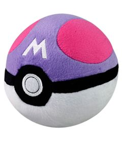 Pelucia-Pequena---11-Cm---Pokemon---Pokebola---Master-Ball---Tomy