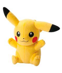 Pelucia-Pokemon-Grande---22-Cm---Pikachu-Happy---Tomy