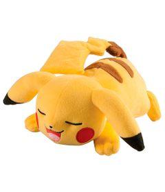 Pelucia-Pokemon-Media---14-Cm---Pikachu-Dormindo---Tomy