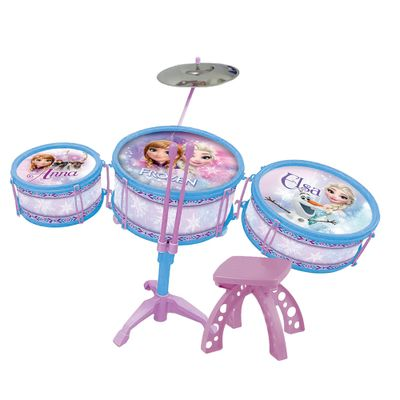 Bateria-Infantil-Musical---Disney-Frozen---Toyng
