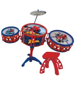 Bateria-Infantil-Musical---Spider-Man---Marvel---Toyng
