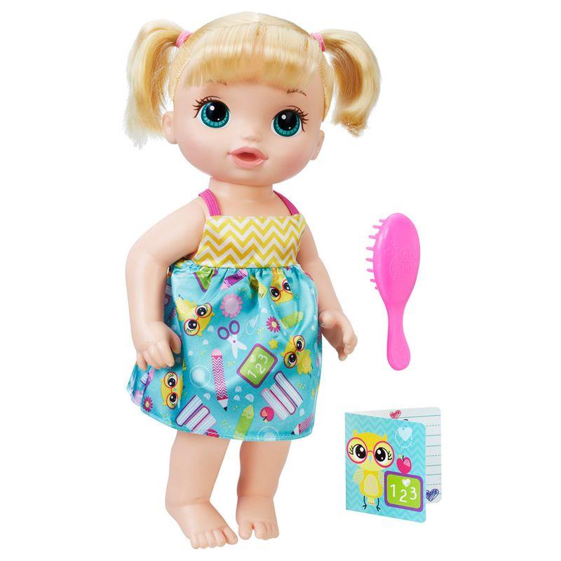 4090c275b2 Boneca Baby Alive - Loira - Escolinha - C2694 - Hasbro - Ri Happy Brinquedos